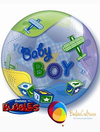 Balão Bubble menino