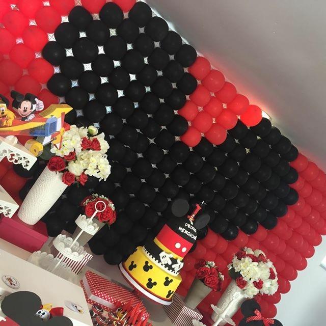 Festa Temática Mickey com personalizados