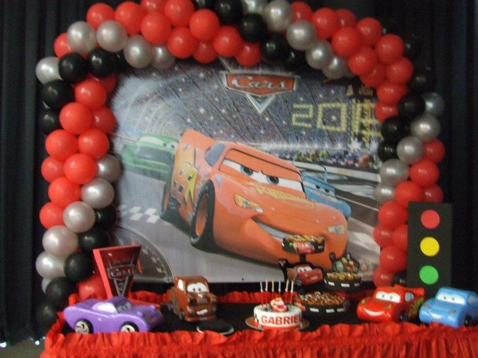 Festa temática CARS
