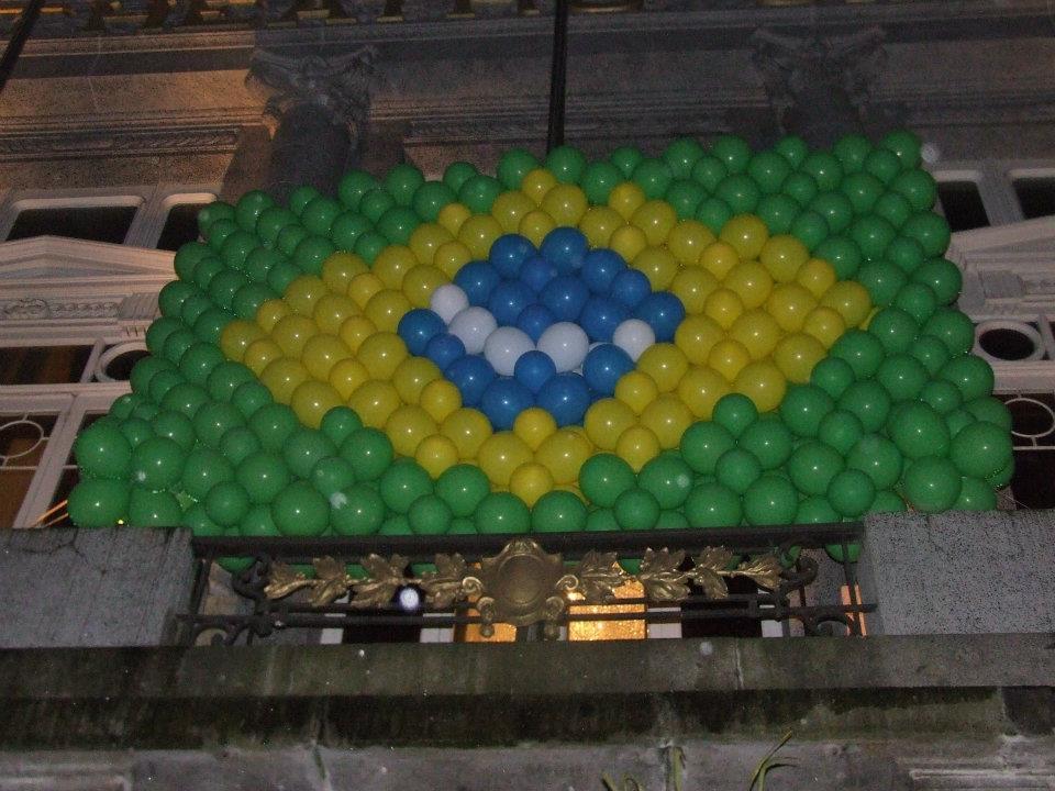 Parede Balão - Brasil