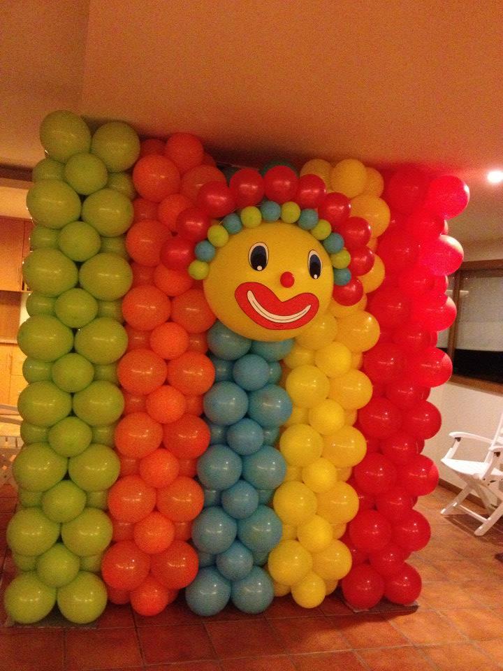 Parede Balão - circo
