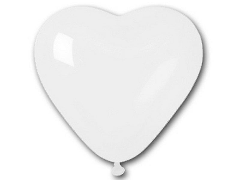 15-pcs-White-12-HEART-SHAPED-Latex-Balloons-Party-Wedding-ARCH-DECORATIONS-SALE