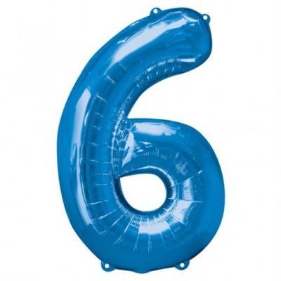 6 azul