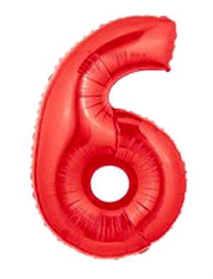 6 vermelho