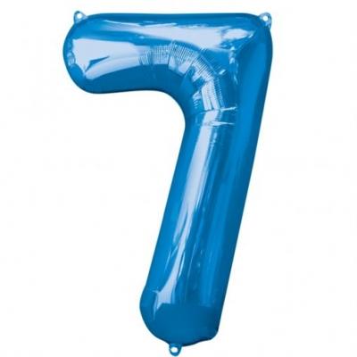 7 azul