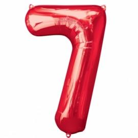7 vermelho