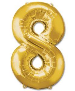 8 dourado