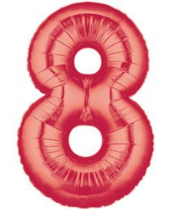 8 vermelho