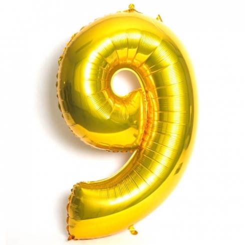 9 dourado