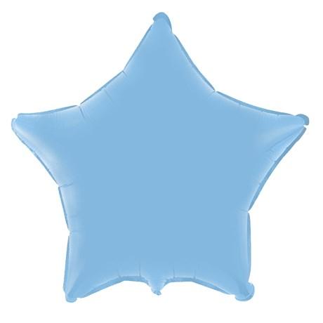 Azul-baby estrela azul claro