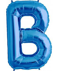 b azul