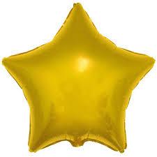 balao estrela dourada