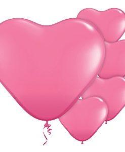 Balão-Látex-forma-coração-rosa-claro-Festomania