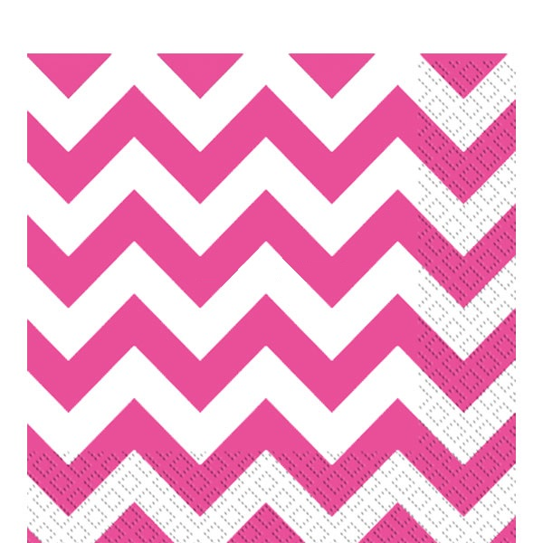 guardanapos-bright pink chevron