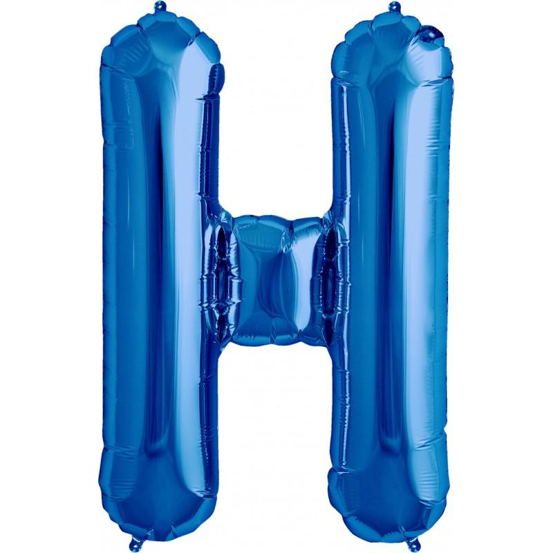 h azul