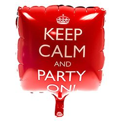 Keep Calm and Party On! Balloon