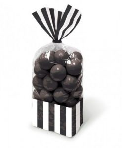 Bolsa para doces Preto