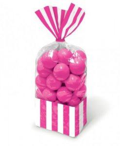 Bolsa para doces Rosa