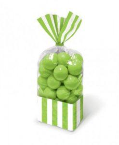 Bolsa para doces Verde