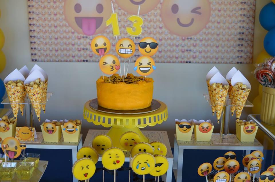 Festa Emojis, Smiles, emoticons ou smiley, Braga, Guimar u00e3es u2013 Planet Party -> Decoração De Festa Tema Emoji