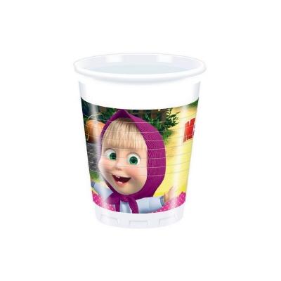 Copo masha-and-the-bear-cups