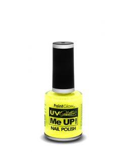 neon-uv-glitter-nail-polish-amarelo