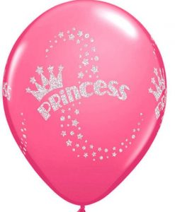 qualatex-glitter-princess-latex-balloons-rosa